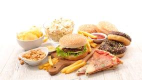Alimenti industriali assortiti fotografia stock