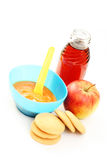 Alimenti per bambini Immagine Stock Libera da Diritti