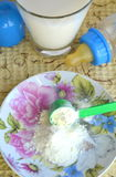 Alimenti per bambini asciutti fotografia stock libera da diritti