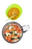 Alimenti per bambini casalinghi Fotografia Stock Libera da Diritti