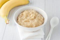 Alimenti per bambini casalinghi Fotografia Stock
