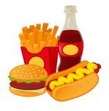 Alimenti a rapida preparazione royalty illustrazione gratis