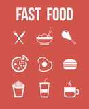 Alimenti a rapida preparazione Fotografia Stock