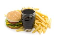 Alimenti a rapida preparazione Fotografia Stock Libera da Diritti
