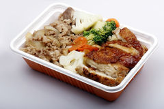 Alimenti a rapida preparazione cinesi. Fotografie Stock Libere da Diritti