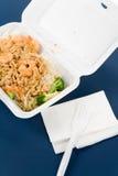 Alimenti a rapida preparazione cinesi Fotografie Stock