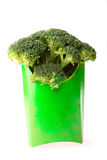 Alimenti a rapida preparazione del broccolo fotografie stock libere da diritti