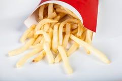 Alimenti a rapida preparazione delle patate fritte Fotografia Stock Libera da Diritti