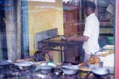 Alimenti a rapida preparazione dello Sri Lanka Immagine Stock