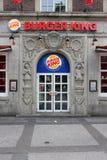 Alimenti a rapida preparazione di Burger King Immagini Stock Libere da Diritti