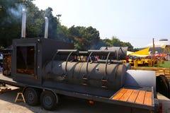 Alimenti a rapida preparazione locomotivi retro Fotografia Stock