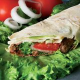 Alimenti a rapida preparazione - pranzo Immagine Stock Libera da Diritti