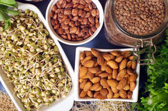 Alimenti sani Fotografia Stock Libera da Diritti