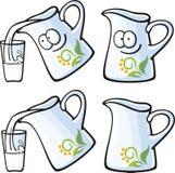 Alimenti svegli - latte Fotografie Stock