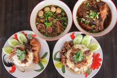 Alimenti tailandesi immagine stock