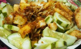 Alimenti tradizionali indonesiani immagini stock libere da diritti