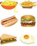 Alimento Ilustração Stock