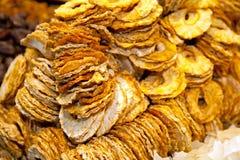Alimento, abacaxi secado cortado fotografia de stock royalty free
