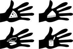 Alimento acessível ilustração do vetor