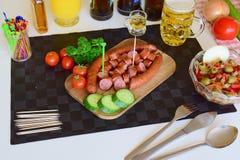 Alimento, alimento di Pinoy, alimento filippino, Philippine Pulutan, Pulutan Fotografia Stock