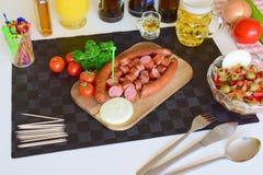 Alimento, alimento di Pinoy, alimento filippino, Philippine Pulutan, Pulutan Fotografie Stock