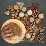Alimento alto saudável da fibra Fotografia de Stock