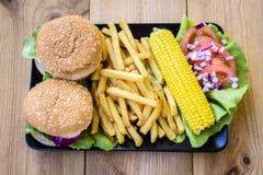 Alimento americano Fotografia Stock Libera da Diritti
