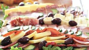 alimento, aperitivo, conceito de abastecimento, Imagem de Stock Royalty Free
