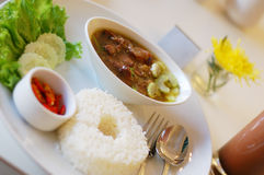 Alimento asiático Fotografía de archivo libre de regalías