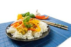 Alimento asiático imagenes de archivo