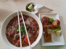 Alimento asiático Foto de archivo libre de regalías