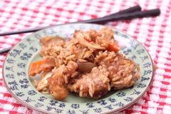 Alimento asiático imagen de archivo