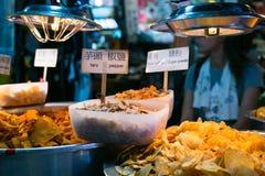 Alimento asiático da rua Fotos de Stock