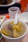 Alimento asiático: Sopa de la pimienta del cerdo imágenes de archivo libres de regalías