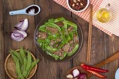 Alimento asiatico Fotografia Stock Libera da Diritti