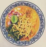 Alimento asiatico Immagini Stock
