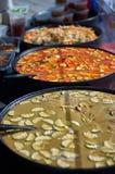 Alimento asiatico della via Fotografia Stock