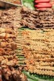 Alimento asiatico della via Fotografie Stock