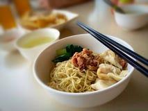Alimento asiatico di comodità Immagine Stock