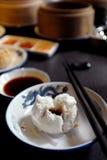 Alimento asiatico: Somma fioca Fotografia Stock