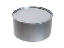 Alimento: Atum em uma lata fechada Fotos de Stock