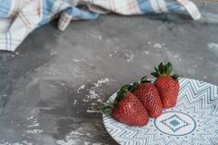 Alimento - bacche Fotografia Stock
