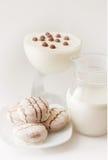 Alimento bianco Fotografia Stock Libera da Diritti