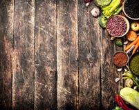 Alimento biológico fotos de archivo libres de regalías