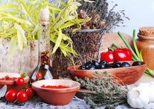 Alimento biológico imagen de archivo libre de regalías