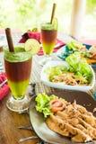 Alimento biológico de Bali Foto de Stock Royalty Free