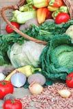 Alimento biológico fresco Imagens de Stock