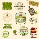 Alimento biológico - ilustração Fotografia de Stock