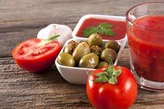 Alimento biológico saudável Imagem de Stock