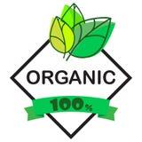 Alimento biol?gico, iconos del producto fresco y natural de la granja y colecci?n de los elementos para el mercado de la comida,  stock de ilustración